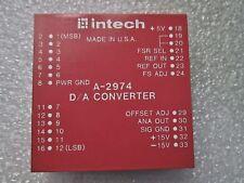 A-2974 INTECH D/A CONVERTER MODULE 25-PIN 15 VOLT