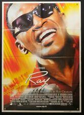 RAY Ray Charles TAYLOR HACKFORD, JAMIE FOXX, MANIFESTO POSTER AFFICHE BIOGRAFICO