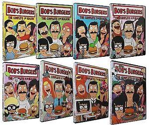 Bob's Burgers, Seasons 1,2,3,4,5,6,7,8 - Bobs Burgers DVD Collection