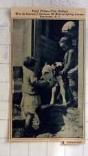 1927 Prize Photo Award Edward Greenan 186 Mineral Spring Avenue Pawtucket RI.