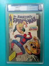 Amazing Spider-Man 57 CGC 9.0 VF/NM 1968 Stan Lee John Romita Ka-Zar Zabu
