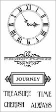 Fiskars Simple Stick Repositionable Rubber Stamps JOURNEY