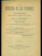 LA MEDICINA DE LAS PASIONES  J.B.F. DESCURET