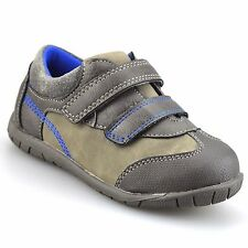 Boys Kids Childrens Infants New Casual Touch Strap Summer Trainers Shoes Size