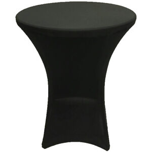 Cocktail Spandex Fitted Stretch Tablecloth 4 Legs Base Table Cover Wedding Event