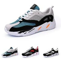 Mens Fashion Sneakers Shoes Outdoor Running Sports Gym Mesh Breathable Casual B