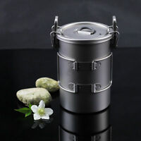 Keith Multifunctional Titanium Cooker Outdoor Camping Picnic Pot Rice Cookware