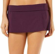 Bleu Rod Beattie Women's Kore Skirted Hipster Bikini Bottom Aubergine 10