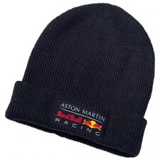 HAT Aston Martin Red Bull Racing Team PUMA Beanie Formula One 1 F1 NEW Navy Blue