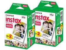 FUJIFILM  INSTAX mini Film     4 Filme für 40 Fotos  MHD 10/2019
