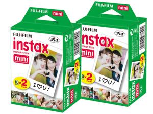 FUJIFILM  INSTAX mini Film     4 Filme für 40 Fotos  MHD 01/2023
