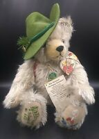 "16"" Hermann The Happy Wanderer Mohair Musical Bear Germany Ltd Ed 4411/13000"