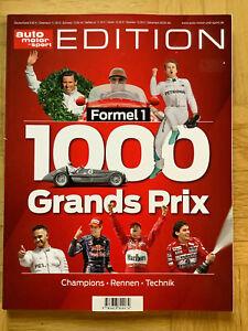 1000 Grands Prix Formel 1 ams Edition (kartoniert