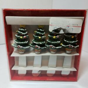 Christmas Tree Holiday Cheese Ball Butter Spreaders Set of 4 World Bazaars, Inc