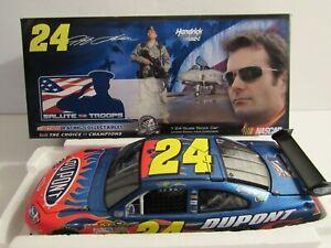 Jeff Gordon #24 DuPont Salute the Troops 2008 Impala SS Action 1:24 NASCAR