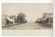 Glidden, Iowa, Main Street Looking South RPPC