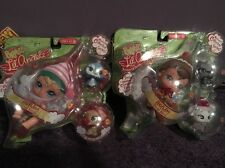 New In Box Target Exclusive Lot Of 2 Bratz Lil' Angels Christmas Dolls & Pets