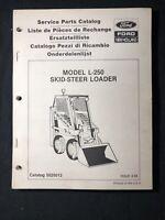 New Holland Service Parts Catalog Model L-250 Skid Steer Loader *566