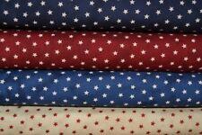 Lot de 4 coupons patchwork étoiles - Tissus Moda Primitive Gatherings 24x55cm