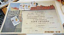 diploma PROMOZIONE CAPOSQUADRA BALILLA - OPERA BALILLA ROMA 8/4/1934