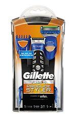 Gillette FUSION PROGLIDE POWER STYLER 3-in1 RASOIO funzionamento a batteria, frustfre