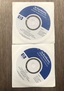 HP System Recovery Discs Windows  XP Home SP1 - 4 discs - QuickRestore