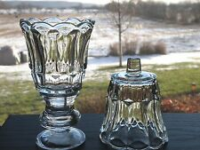Set of 2 Homco Home Interiors STARLITE Clear Glass Votive Cup Candle Holders