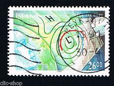 ISLANDA ISLAND 1 FRANCOBOLLO EUROPA CEPT SPAZIO 1991 usato