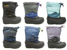 Columbia Little Big Kids Powderbug Forty Waterproof Insulated Snow Winter Boots