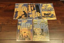 VIOLENT #1-5 Complete Lot Set Run Series VF (Image 2015) 1 2 3 4 5