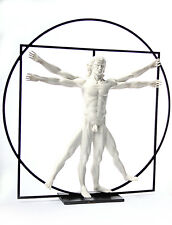Vitruvian Universal Man Perfect Man Body by DaVinci White Large 16 inch