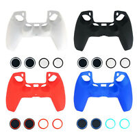 Joystick Buttons Caps Shell for Playstation 5 PS5 Controller Silicone Cover Case