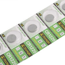 Lots 5 Cr1220 1220 3v Coin Button Batteries Cell Battery for Watch Toys Remote