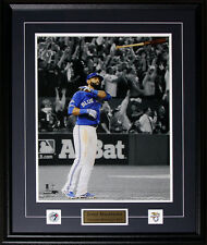 Jose Bautista Toronto Blue Jays Bat Flip Home Run 2015 AL Finals 16x20 frame