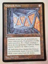 1x Portuguese Mana Crypt NM- MTG Book Promo Magic