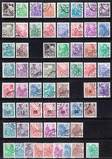 Gestempelte Briefmarken der DDR (1949-1990) für Geschichte
