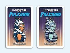 Hyperspace Pins: Fulcrum + Fulcrum (Hologram) Pins