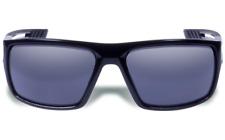 Gargoyles® Rampart Police Tactical Wraparound Sunglasses, Black Frame Smoke Lens