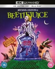 Beetlejuice 4k Ultra HD Blu-ray RB Tim Burton