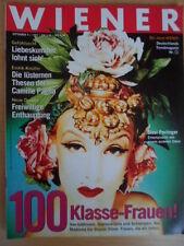 WIENER 9-1992 100-Klasse Frauen Betty Boo Bobby Brown Tom Waits Douglas Coupland