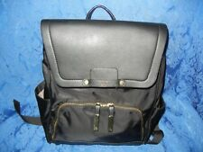 NWT Tutilo New York The Lexy Collection Black Womens Backpack W/ Tutilo Boost