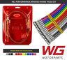 Hel vorn Gewebe Bremsschlauch Satz Volkswagen Golf MK6 R 2.0 345mm Scheibe Pro