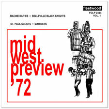 1972 Midwest Preview - Volume 1 Drum Corps CD