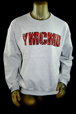 NEW YMCMB YOUNG MONEY casual long Sleeve ANIMAL PRINT PULLOVER sweater CREW *L