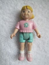 FISHER PRICE Loving Family Dollhouse GIRL SISTER Pink Shirt Original 1998 Rare!