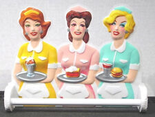 WAITRESS TOWEL BAR 50's Dinettes WALL DECOR Diner or Kitchen Gift Boxed 1988 NOS