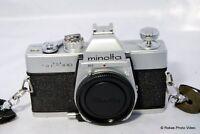 Minolta SRT100 35mm film SLR camera body only SRT-100
