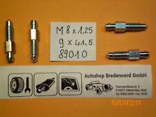 4x Entlüfterschraube Entlüfternippel Bremssattel  Bremszylinder M8x1,25 - 9x41,5