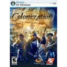Civilization IV 4 Colonization PC XP/VISTA SEALED NEW