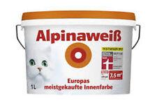 Alpinaweiß Minipack 1L, Alpina, Innenfarbe, Wandfarbe, weiß/matt, bis zu 7,5m²